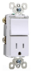 Combination Switch/Receptacle -- TM818-TRPLWCC -- View Larger Image