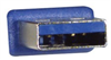 LSZH USB 3.0 Cable Type A - A, 1.0m -- CAU3ZAA-1M -Image