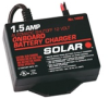 Solar 1.5amp Underhood 12V Automatic Battery Charger -- 102123