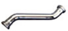 Metal Double Offset Tube, 17 Gauge - 1-1/4 in. - Chrome Plated with Brass Nuts -- 637 173B
