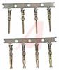 D-Sub Hoods, Hardware, Male Crimp Contacts, 100/Bag -- 70121343