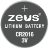Batteries Non-Rechargeable (Primary) -- 2059-CR2016-ND