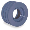 V-Belt Pulley,QD,4.9 In OD,3 Groove -- 4JE62