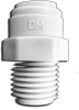FITTINGS AND CONNECTORS, PUSH PULL CONNECTORS, PUSH PULL CONNECTOR MALE ADAPTER -- 33-QC406-MC