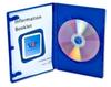 Blue Single DVD Case -- 3169