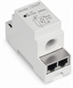 Current sensor with bus connection in DIN-rail mount enclosure; Measuring range 0 ... 80 A -- 789-620