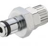 Chrome Plated Brass Non-Valved Plugs -- 20CB Series - Image