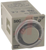 Timer; 5 A @ 250 VAC; 6 to 60 Sec.; Plug-In/8 Pin Octal; DPDT; Knob; -10 -- 70178008
