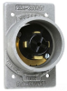 Locking Flanged Male Base Inlet -- 20418 - Image