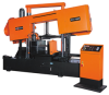 Semi-Automatic Hydraulic Canted Frame Straight Cutting Saw -- SH-760F