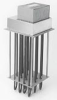High Temperature Air Duct Heaters -- ADH and ADHT Series - Image