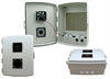 14x10x4 Inch Vented INDOOR Enclosure with PoE interface and Cooling Fan -- NBP141004-40F -Image