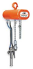 Hoist,Air,Chain,600 Lb Cap,10 Ft Lift -- 3DY11