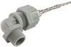 "Cord Connector, nylon, 90 deg, 1/2"" NPT, cable range .125 - .188 with mesh -- RSP-9103-E - Image"