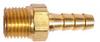 Brass Multi-Barbs Brass Adapter Hose -- BHMA-1M2B