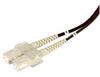 OM2 50/125, Military Fiber Cable, Dual SC / Dual SC, 5.0m -- F2A00003-5M -Image
