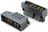 PB+ Backplane Male Right Angle Solder Power Connector -- 80317-1 -Image