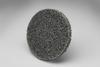 3M Scotch-Brite XL-UR Unitized Silicon Carbide Medium Deburring Wheel - Fine Grade - Quick Change Attachment - 2 in Diameter - 17187 -- 048011-17187 - Image