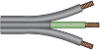 North American 3x18 AWG SPT-2 Cable -- 86030660 -- View Larger Image