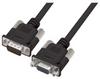 Premium Molded Black D-Sub Cable, HD15 Male / Female, 50.0 ft -- HAD00013-50F -Image