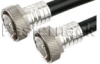7/16 DIN Male to 7/16 DIN Male Cable 72 Inch Length Using 1/2 inch Helical Coax -- PE37971-72