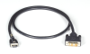 Locking Cable - HDMI-to-DVI, 1m (3.2ft.) -- VCL-HDMIDVI-001M -- View Larger Image