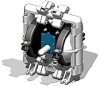 Air Operated Diaphragm Pumps -- P-55-7110 A - Image