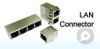 RJ45 LAN Connector Module -- GPEC1111-01FL - Image