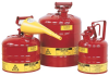 Safety Cans - 5 Gal., Type I safety can w/ I'm Easy funnel > UOM - Each -- 10802