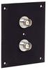 Universal Sub-Panel, 2 BNC Feed-Thru Adapters -- REF00019 -Image