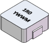 10uH, 20%, 140mOhm, 3Amp Max. SMD Molded Inductor -- SM2007-100MHF -Image