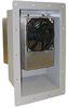 Item # RF-120, Recessed Frame - For Mounting Air Conditioner Entirely Inside Cabinet (200 BTU Models) -- RF-120