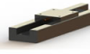 OAV Air Bearings® -- Profile Vacuum Preloaded T-Series Rail Guide
