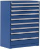 Heavy-Duty Stationary Cabinet (with Compartments) -- R5AHE-5853 -Image