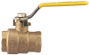 Full Port Brass Ball Valve -- FBVS-3C - Image