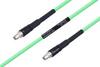 Temperature Conditioned SMA Male to SMA Male Low Loss Cable 100 cm Length Using PE-P300LL Coax -- PE3M0225-100CM -Image