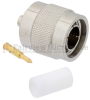 TNC Male Connector Solder Attachment For RG405, FM-SR086CUTN, FM-SR086ALTN Cable -- FMCN1462 -Image
