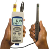 Handheld Thermometer/ Hygrometer Data Logger -- RHXL3SD