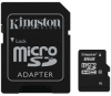 Kingston SDC10/8GB microSDHC Flash Card - 8GB, Class 10, Ada -- SDC10/8GB