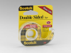 Scotch(R) Double Sided Tape 136, 1/2 in x 250 in -- 021200-01032