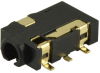 Barrel - Audio Connectors -- CP-SJ2-25312B-SMT-DKR-ND