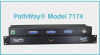 DB25 RS530 A/B Switch, 24VDC Power -- Model 7174 -Image