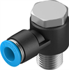 QSLV-1/4-8 Push-in L-fitting -- 153090 -Image