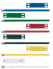 Cable Tie Marker Plate 4 Hole Natural Aluminum -- 07498300693-1