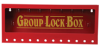 Metal Wall Lock Box -- 105715