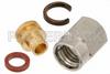 SSMA Male Connector Solder (Without Contact) Attachment for PE-SR405AL, PE-SR405FL, PE-SR405FLJ, RG405 -- PE44382 -Image