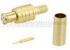 MCX Plug Connector Crimp/Solder Attachment for RG316, RG174, RG188, 0.100 inch, LMR-100, LMR-100A, LMR-100A-FR Cable -- SC9413A -Image