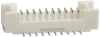 Rectangular Connectors - Headers, Male Pins -- H125399TR-ND -Image