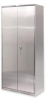 Cabinets - Stainless Steel: Stainless Steel Bi-Fold Cabinets -- BDSC-LEGS