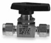 2A-MB2LPFA-SSP - Parker two-way straight ball valve, stainless steel, 1/8